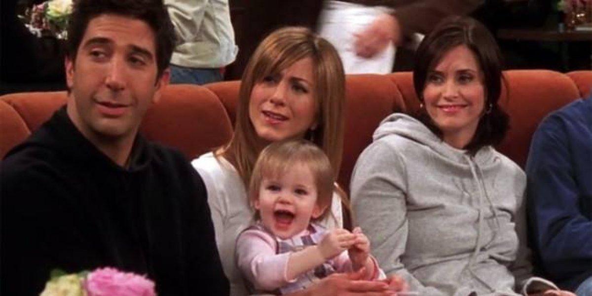"""Así están hoy las gemelas que dieron vida al bebé de Rachel y Ross en """"Friends"""""""