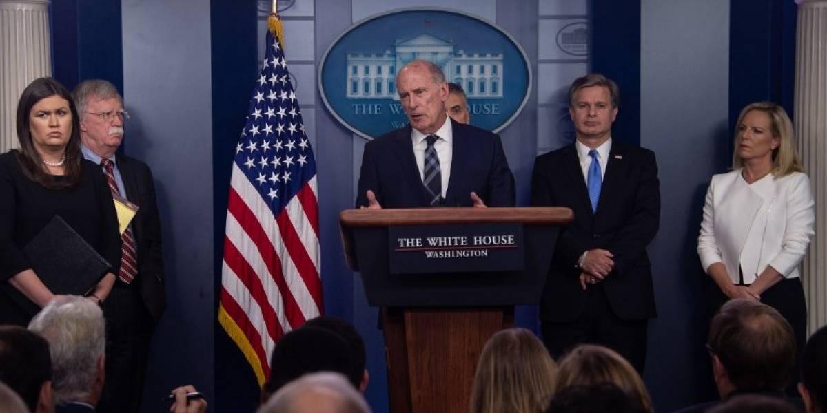Estados Unidos denuncia nuevo intento de injerencia rusa