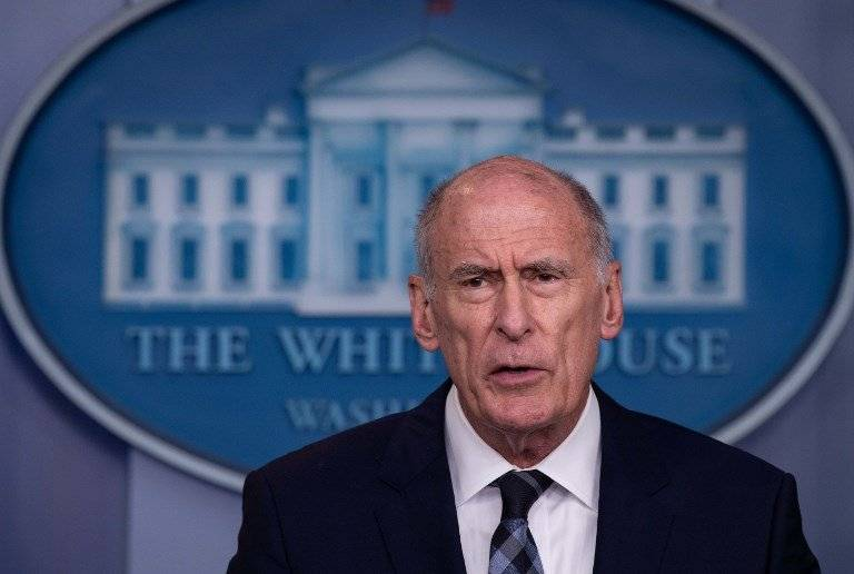 Dan Coats, director de inteligencia de Estados Unidos