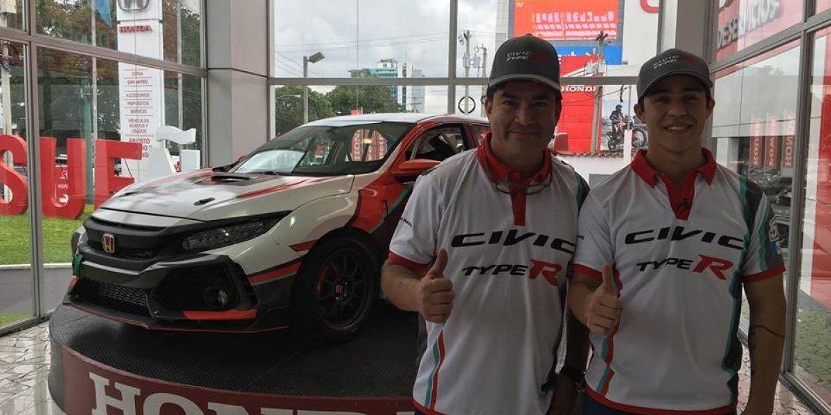 El Honda Racing Team debutará por primera vez con el Civic Type R