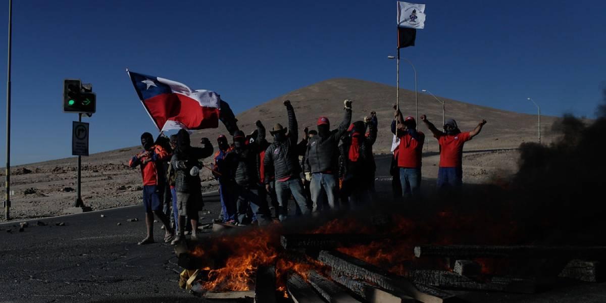 Así pilla al cobre la inminente huelga en minera Escondida