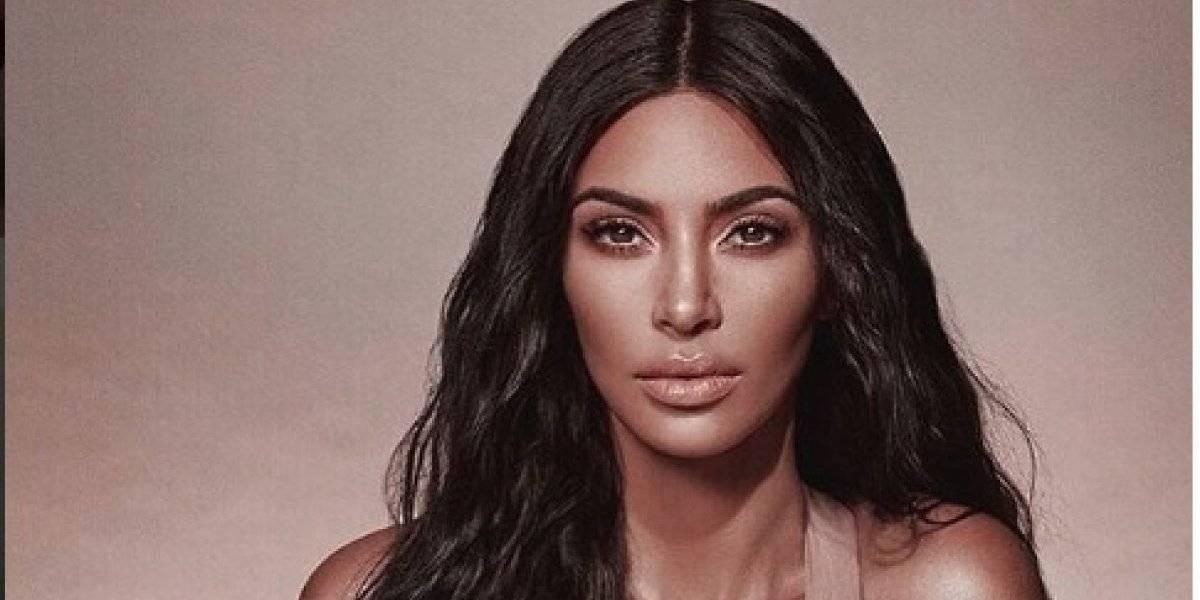 La foto inédita de Kim Kardashian: En leggins y sin maquillaje