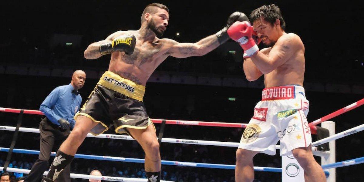 Lucas Matthysse anuncia su retiro del boxeo profesional