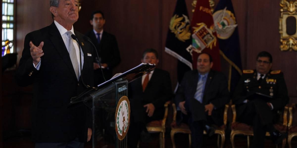 Oswaldo Jarrín anuncia oficina de cooperación con EE.UU. y habla de la Senain
