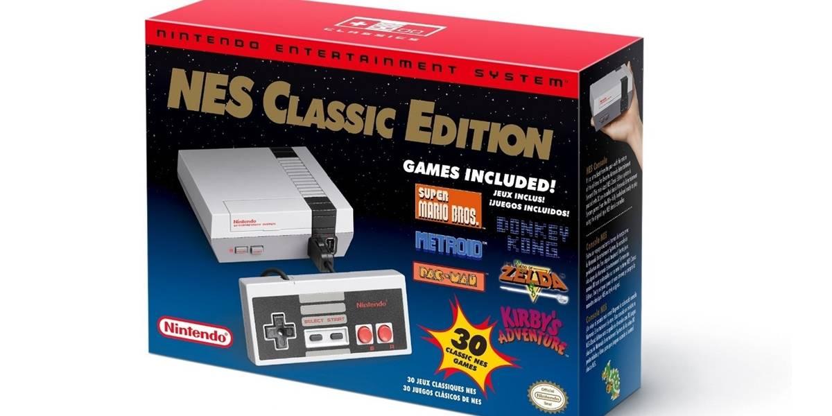 La consola más vendida hoy en día es la NES Classic Edition