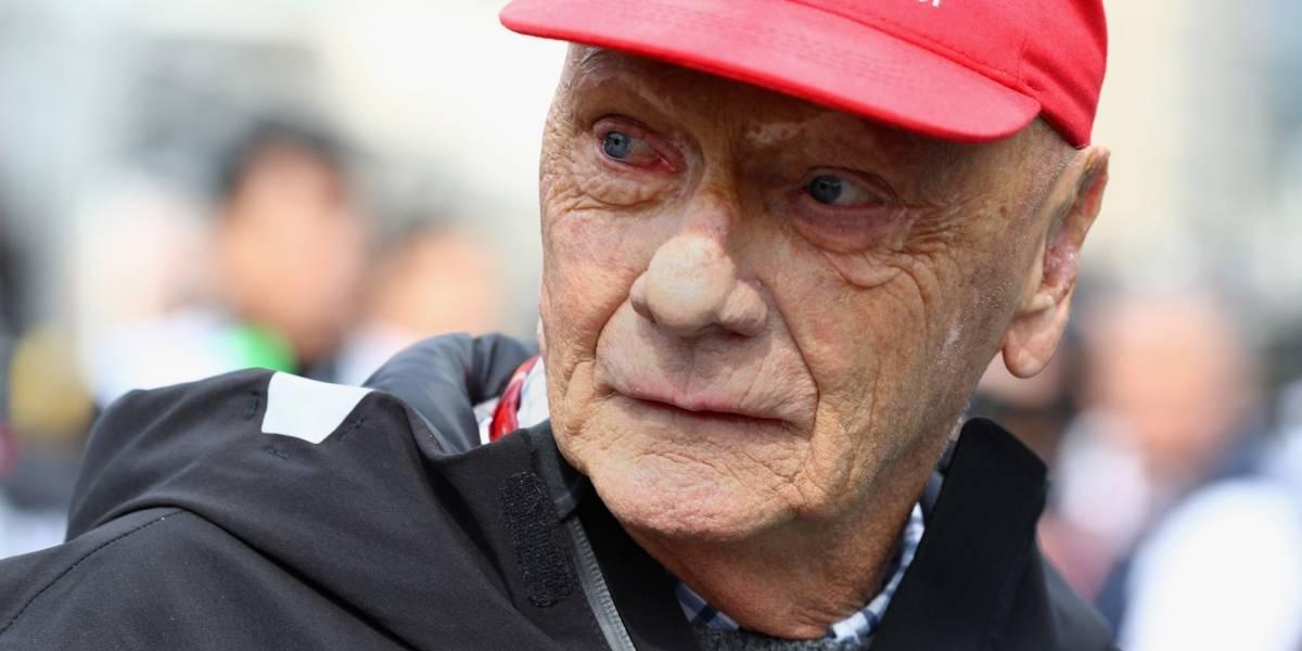 Niki Lauda está grave, luego de un trasplante de pulmón