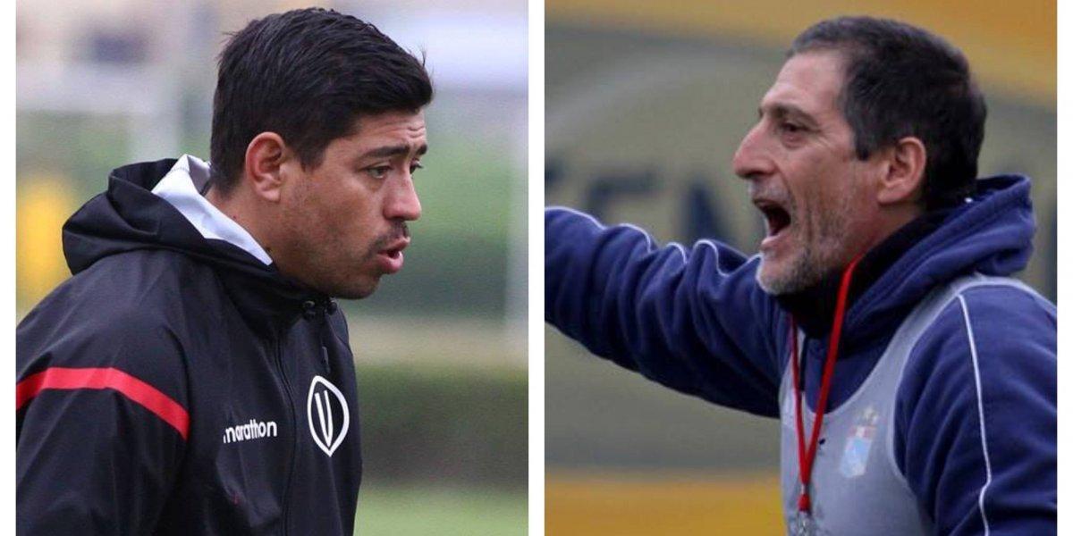"""""""Clásico chileno"""" en Perú: Sporting Cristal de Mario Salas y Universitario de Nicolás Córdova """"calientan"""" el Descentralizado"""