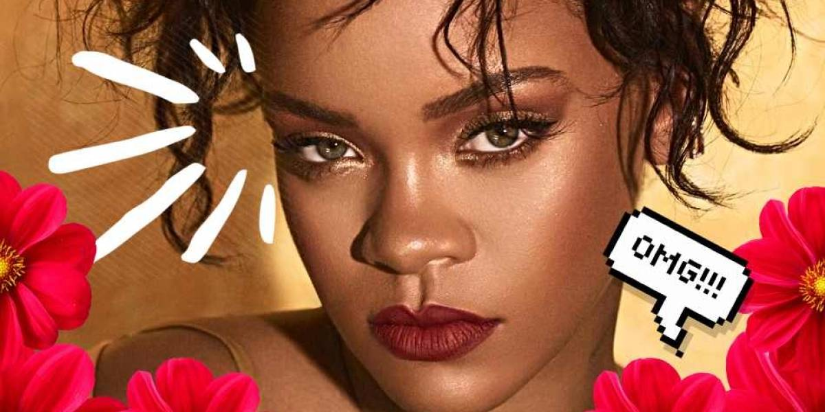 Rihanna trajo de vuelta las cejas noventas y así reaccionó internet