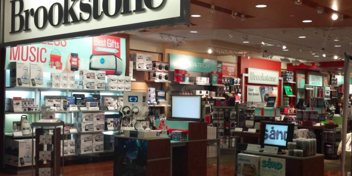 Brookstone cerrará sus tiendas en centros comerciales