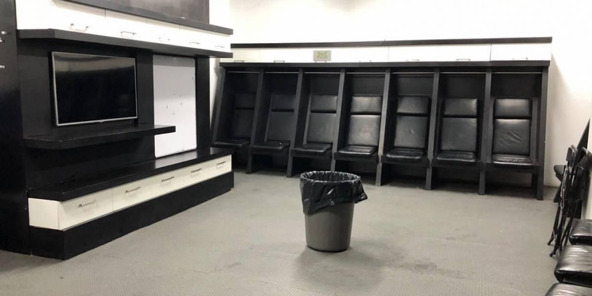 Cruz Azul limpia vestidor de Zacatepec tras partido de Copa MX
