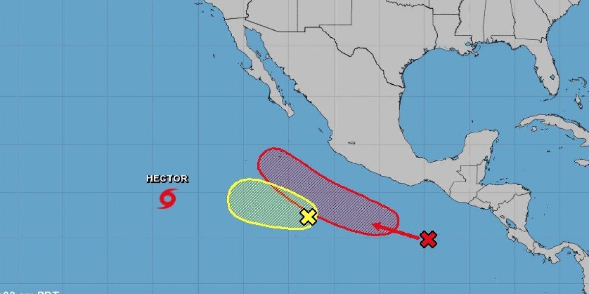 Se convierte huracán Héctor en categoría 3
