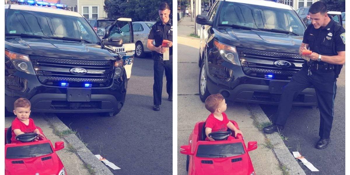 """Demasiada ternura: salió a pasear en su mercedes y le sacaron una multa por """"conducir sin licencia"""""""