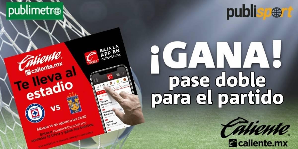 ¡Gana! boletos Cruz Azul vs Tigres