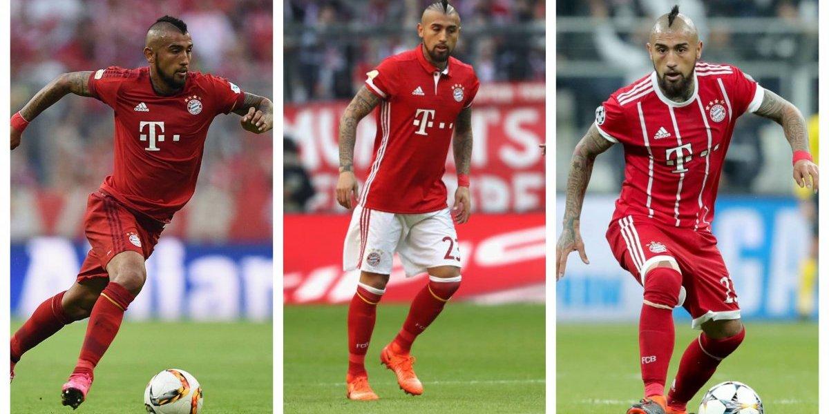 Rey de la Bundesliga, sin título de Champions: los hitos de Arturo Vidal en Bayern Munich