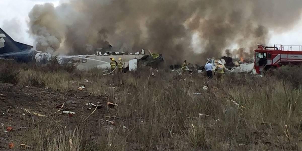 Continúan hospitalizados 17 pasajeros del vuelo AM2341