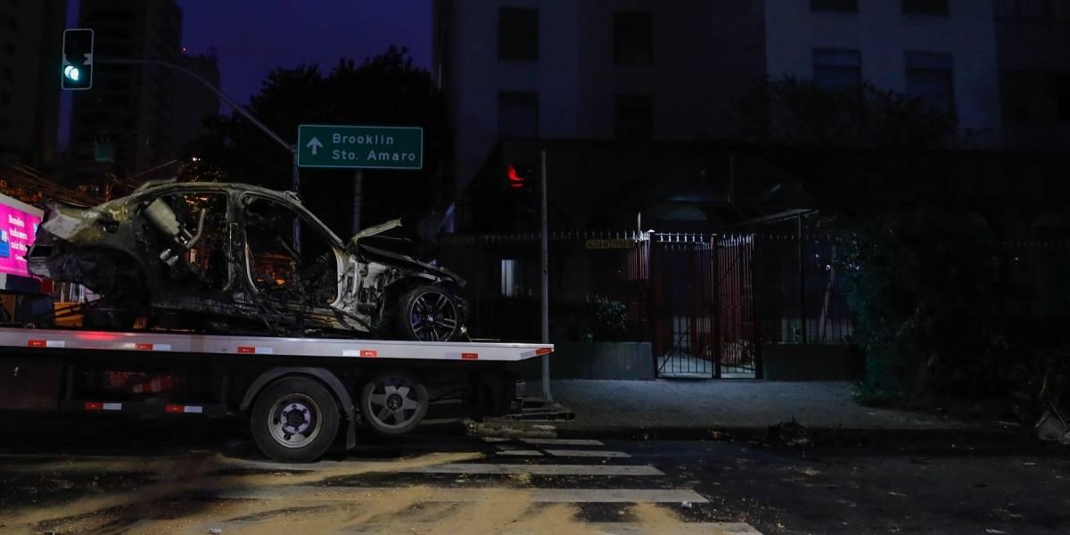 Colisão entre veículos deixa 3 mortos e 1 ferido no Itaim Bibi, em SP