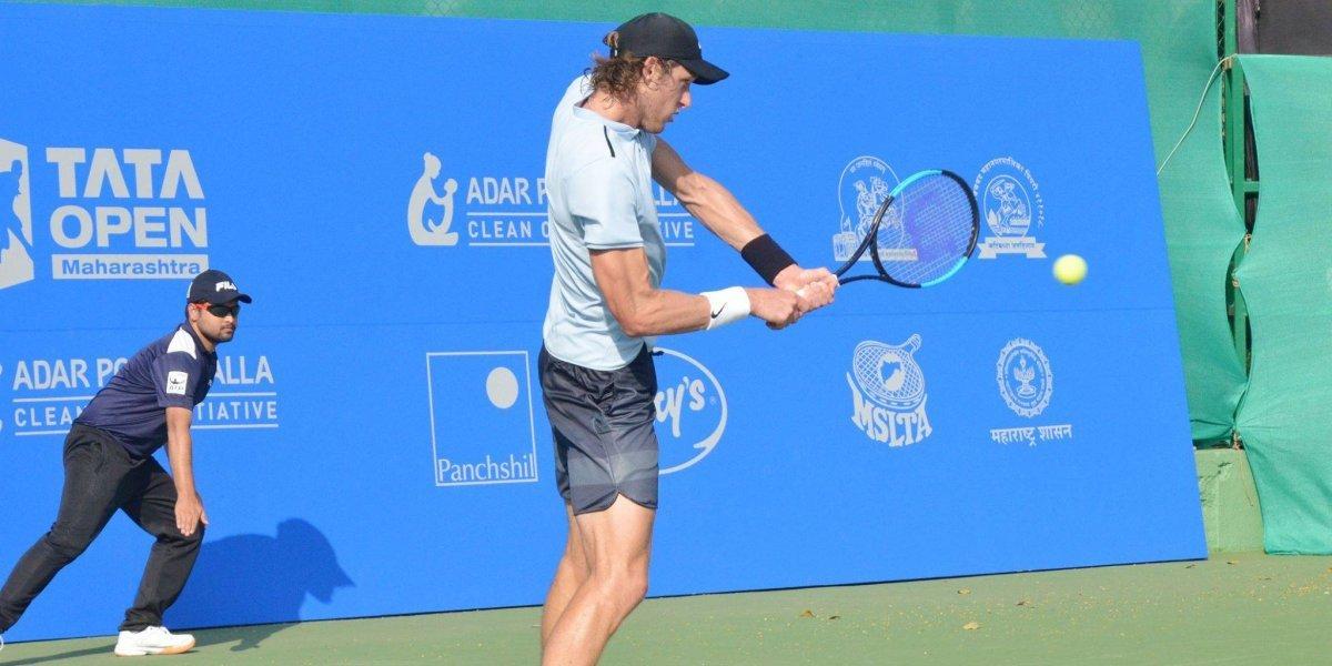 Ahora la pista se pone dura para Nicolás Jarry en la ATP