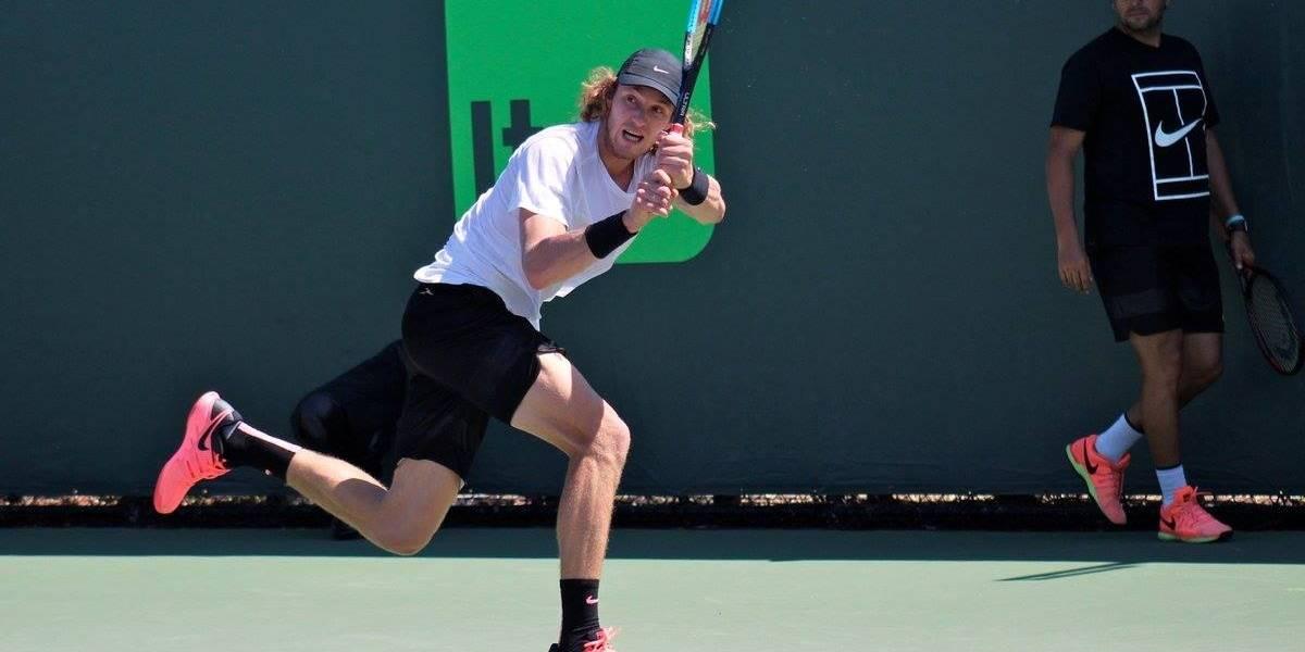 Nicolás Jarry tuvo un debut espectacular en el ATP de Winston-Salem