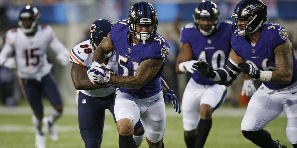 Ravens se impone ante los Bears en partido del Salón de la Fama