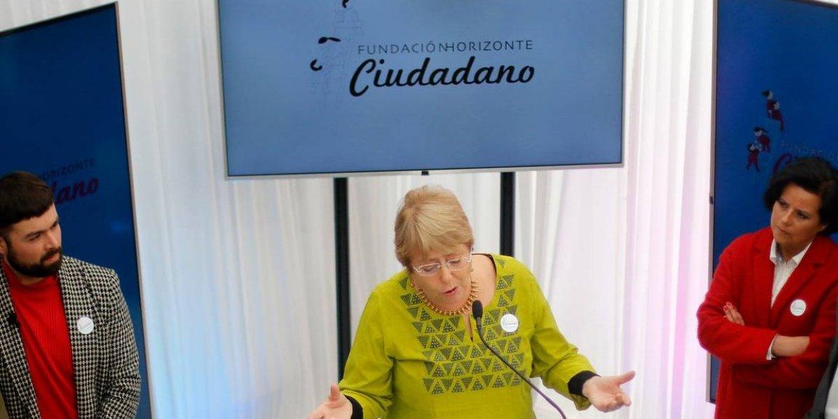 Ossandón critica duramente a Bachelet por nueva fundación y se burla del lenguaje inclusivo que utiliza ex Presidenta