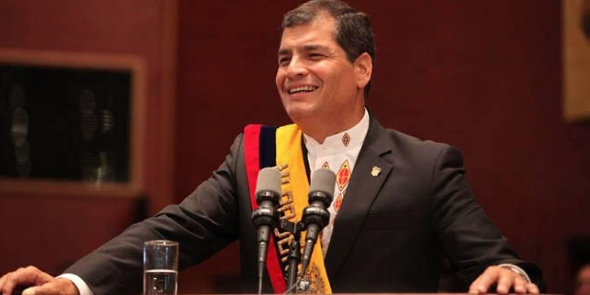 Partidarios de Rafael Correa piden que se niegue visa a periodistas de La Posta