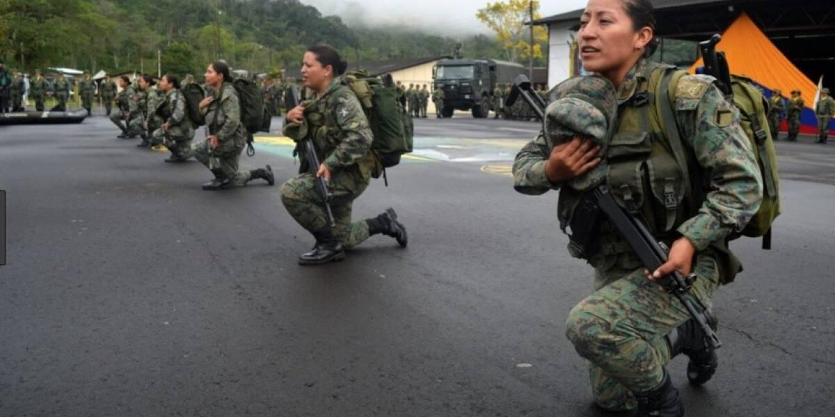 Acuartelamiento de mujeres iniciará en Ecuador con 199 cupos
