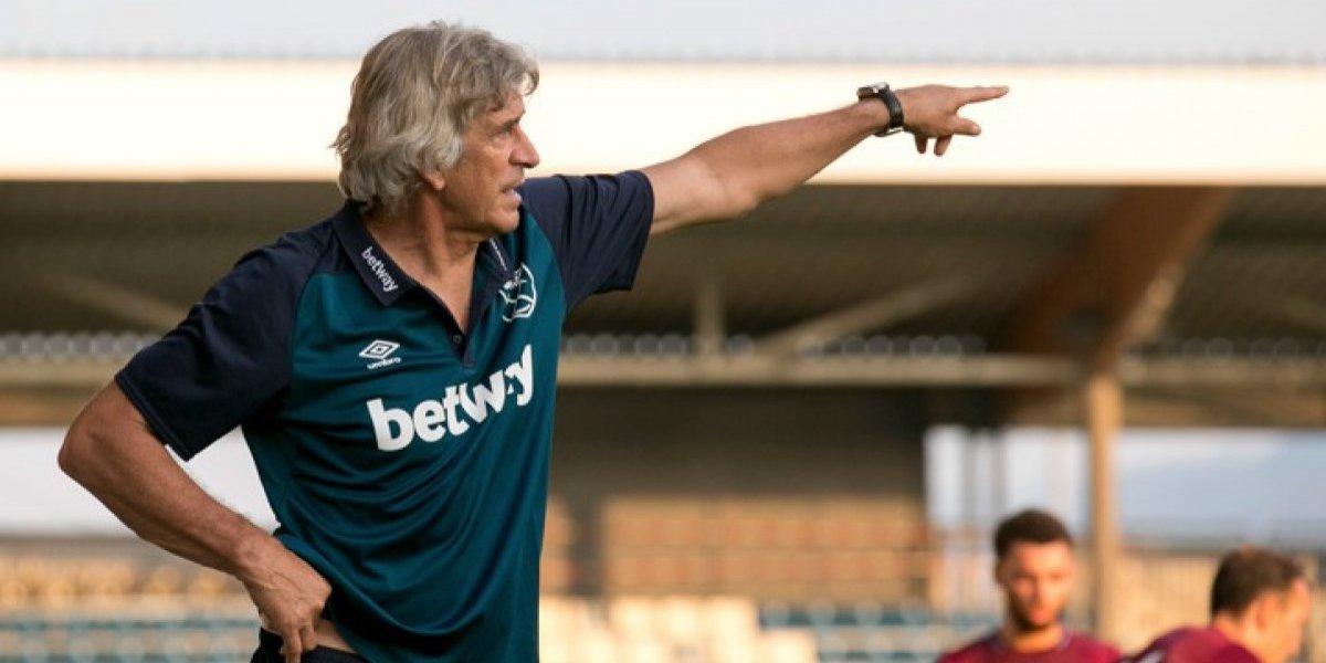 West Ham de Pellegrini ganó en su último duelo de pretemporada con gol de Chicharito
