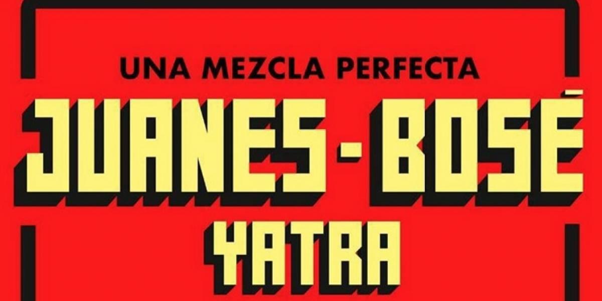 Habrá descuentos en entradas para conciertos de Miguel Bosé, Juanes y Sebastián Yatra