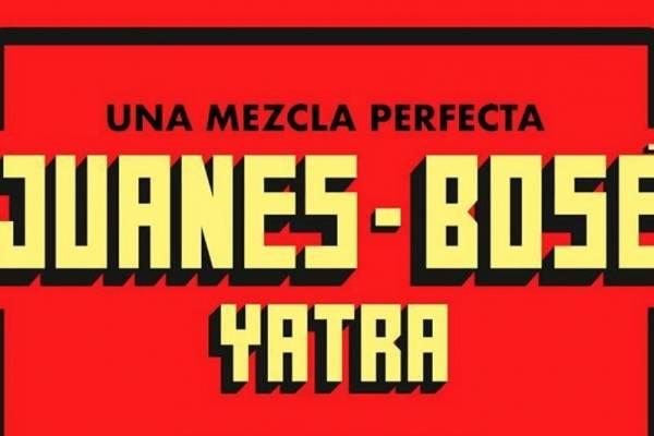 Juanes, Bosé y Yatra