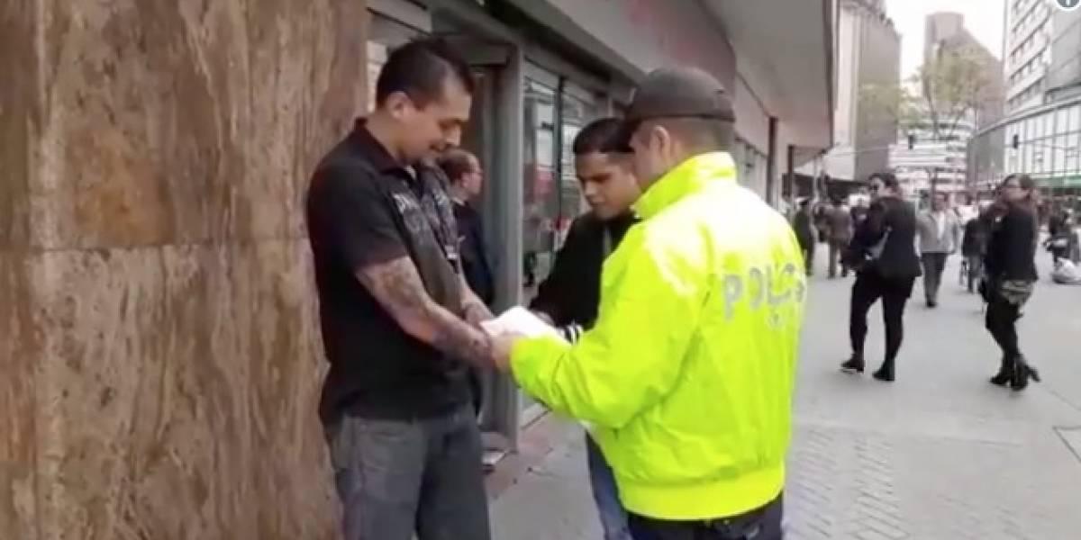 Así fue la captura del presunto asesino de la porrista de Millonarios