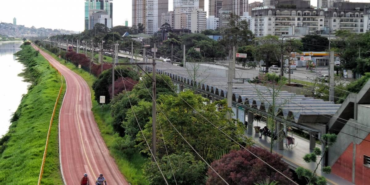 Obras da Emae interditam Ciclofaixa Rio Pinheiros a partir desta sexta; veja alternativa