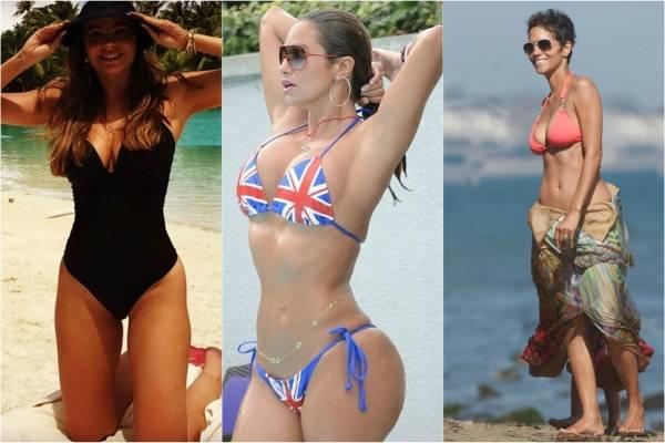 8e08eb398826 No creerás cómo lucen estas famosas con más de 40 en bikini   Nueva ...