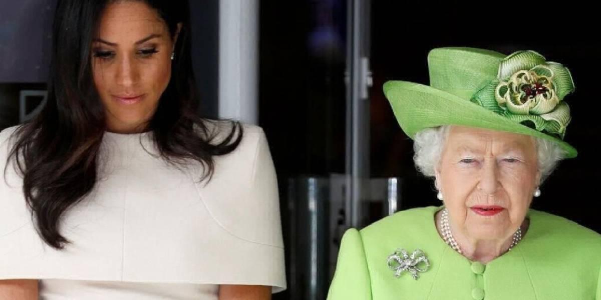 ¿Discordia? Reina Isabel ordena remover la foto de Meghan y Harry del palacio de Buckingham