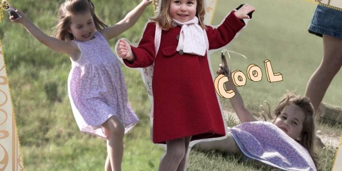 A foto que mostra a incrível semelhança entre príncipe William e sua filha Charlotte