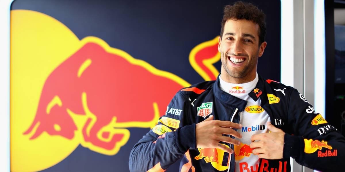 Renault anuncia llegada de Daniel Ricciardo