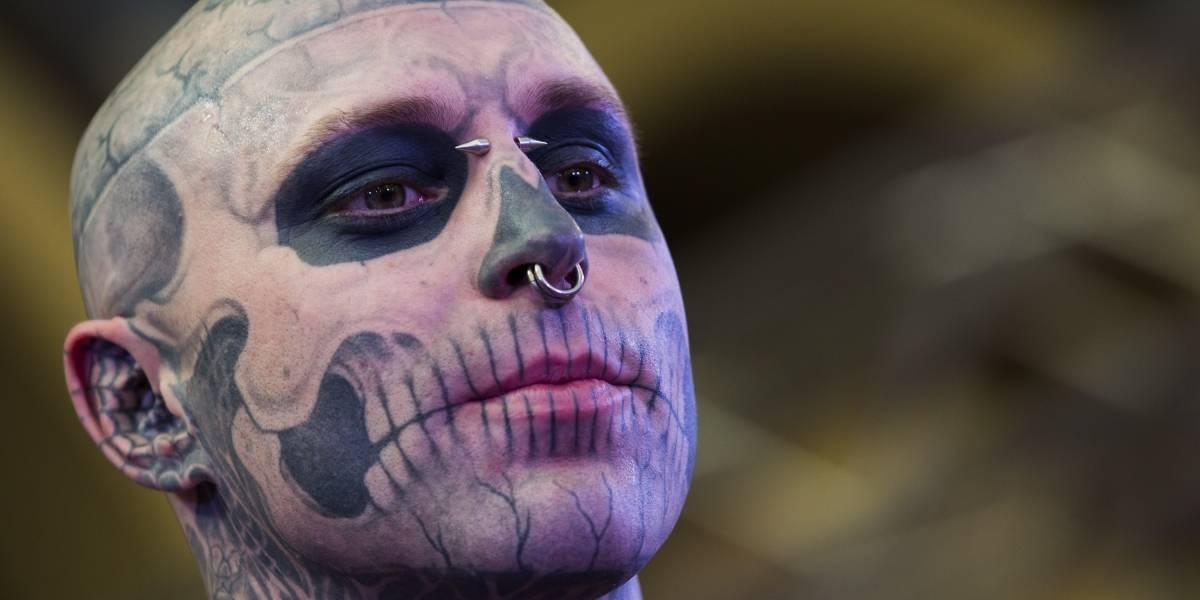 Familiares de Zombie Boy acham que morte foi acidental