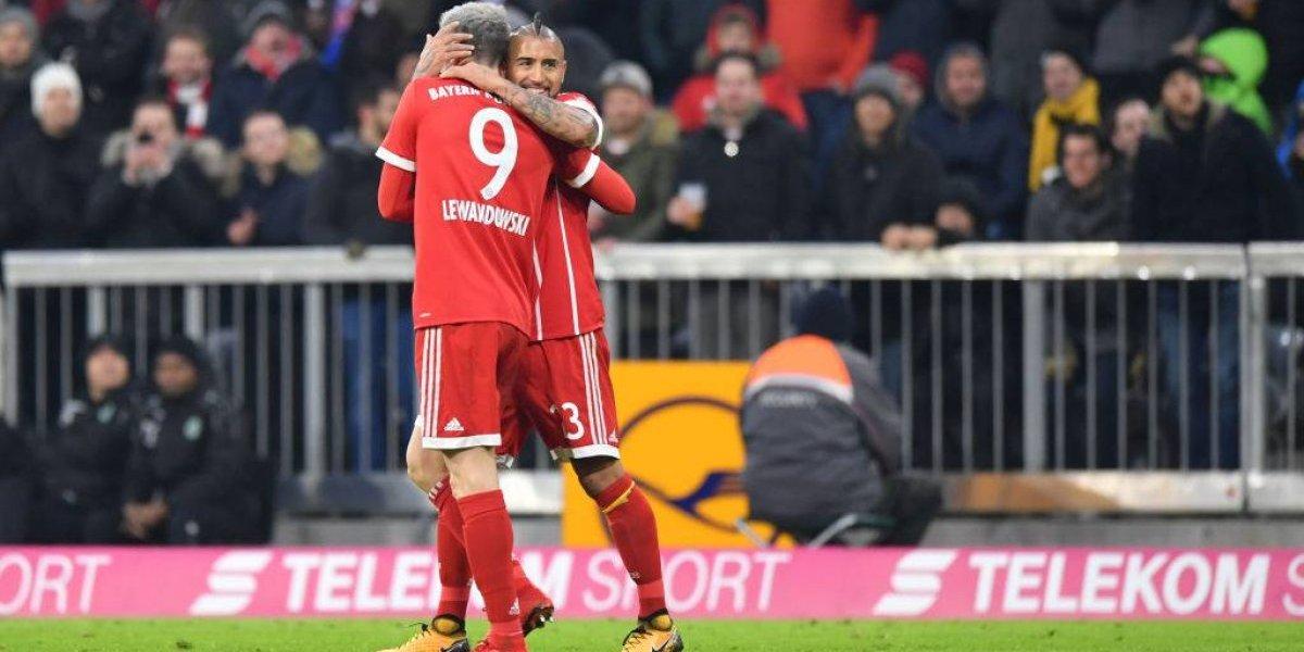 """La sentida despedida de Arturo Vidal del Bayern: """"Disfruté mucho mi tiempo en Munich"""""""