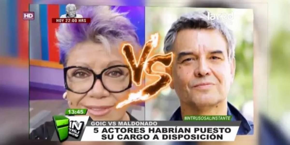 """Luz Valdivieso niega haber puesto su cargo a disposición, pero se cuadra con Alejandro Goic: """"Lo encontramos ídolo"""""""