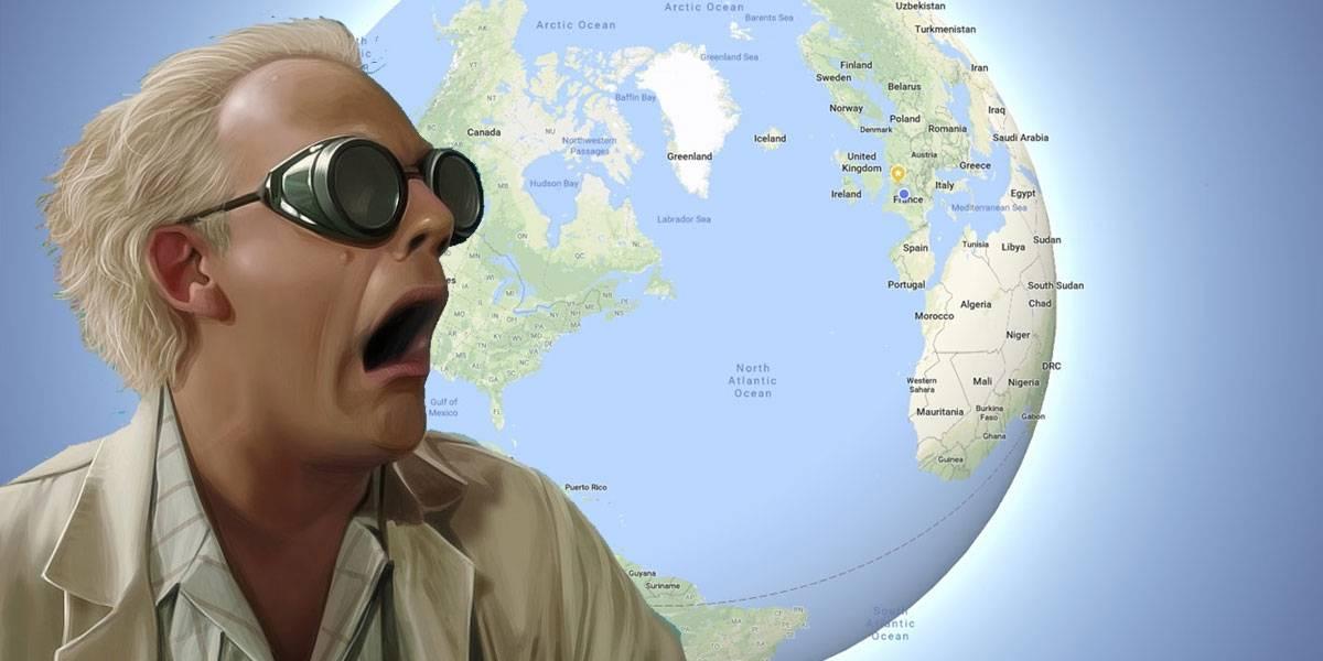 Google Maps por fin considera que la Tierra es redonda y no plana