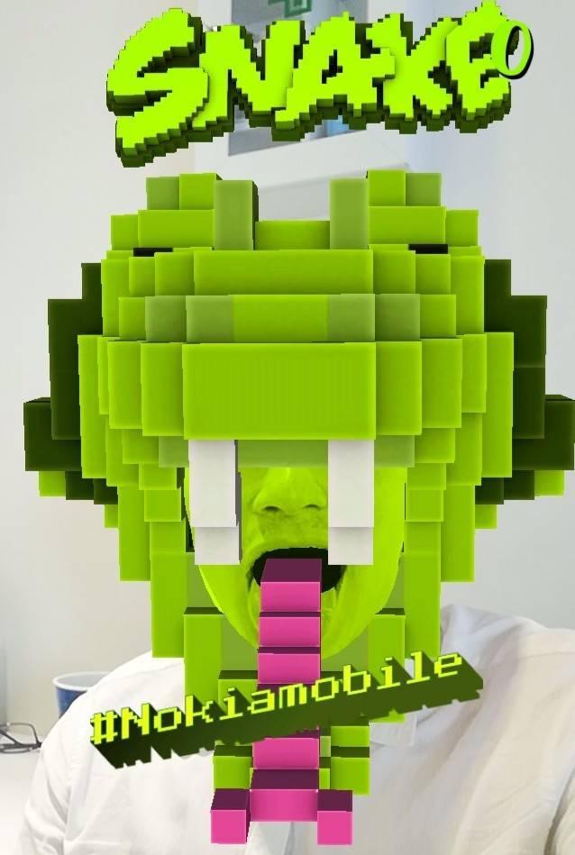 ¡Vuelve a jugar el clásico Snake de Nokia, ahora en realidad aumentada!