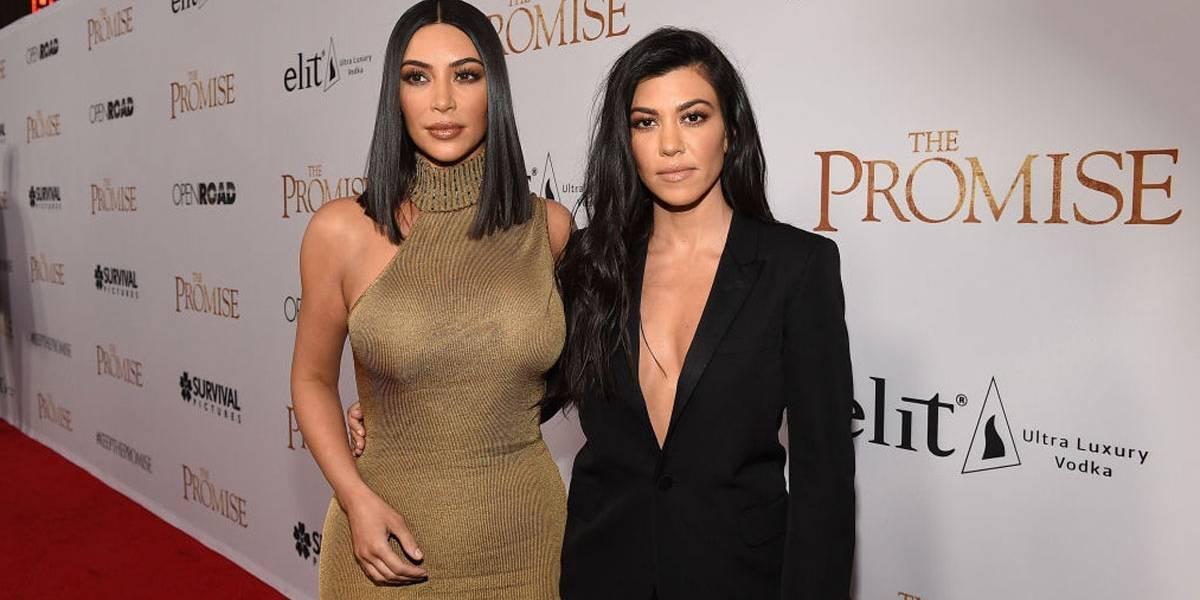 Kim Kardashian discute com fã após ser chamada de 'ser humano ruim' pela irmã, Kourtney