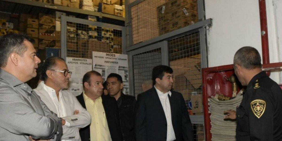 Continúa inspección a centros comerciales en la Ciudad de México
