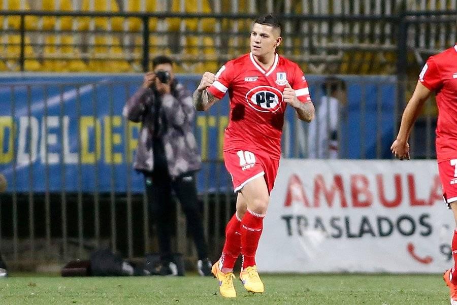 Discoteca Núñez anotó su primer gol con la camiseta de La Calera / Foto: Photosport