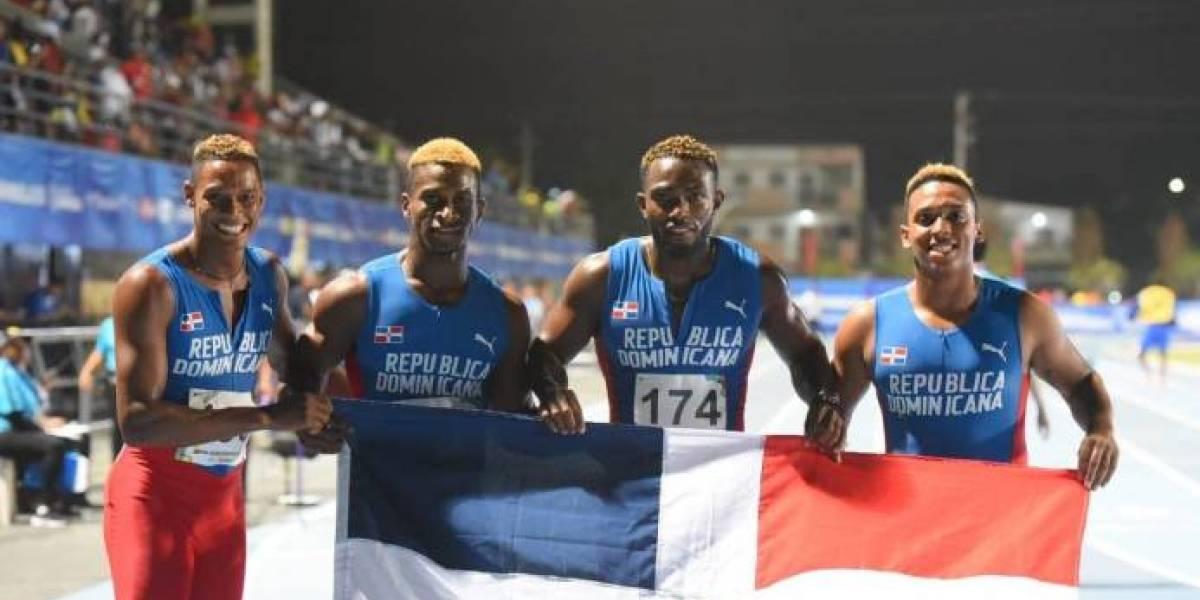 Equipo dominicano 4x400 se queda con la plata en Juegos Centroamericanos
