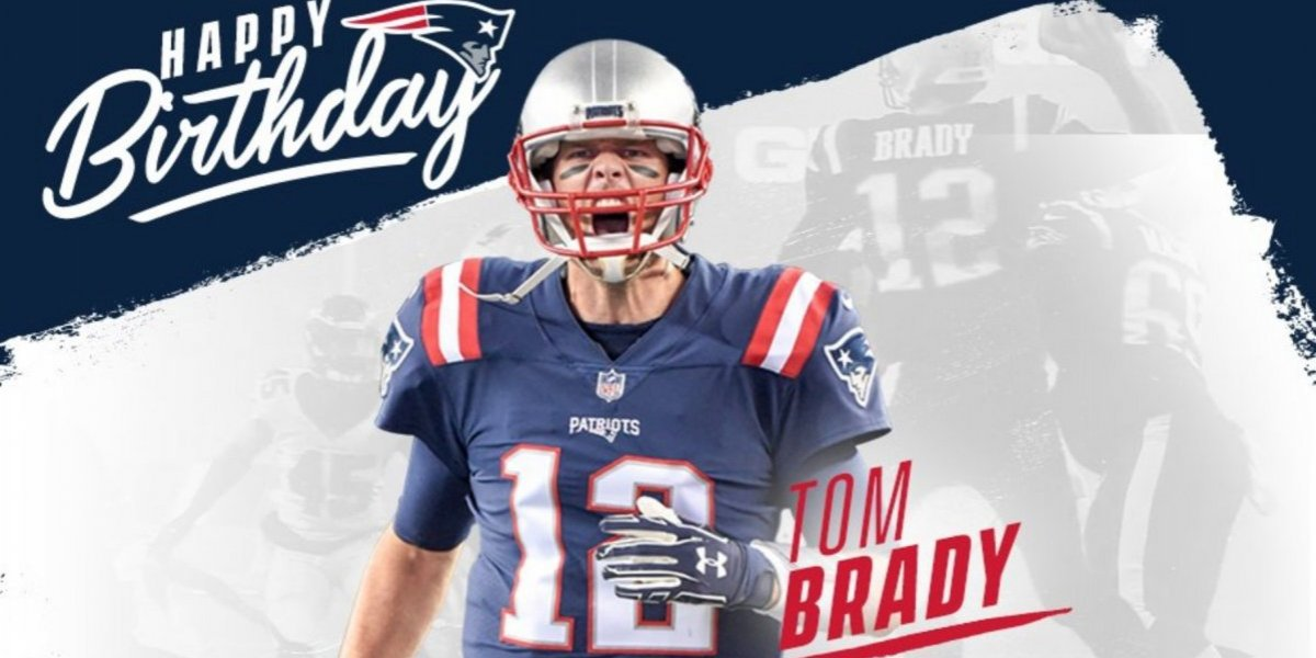 Tom Brady celebra su cumpleaños número 41