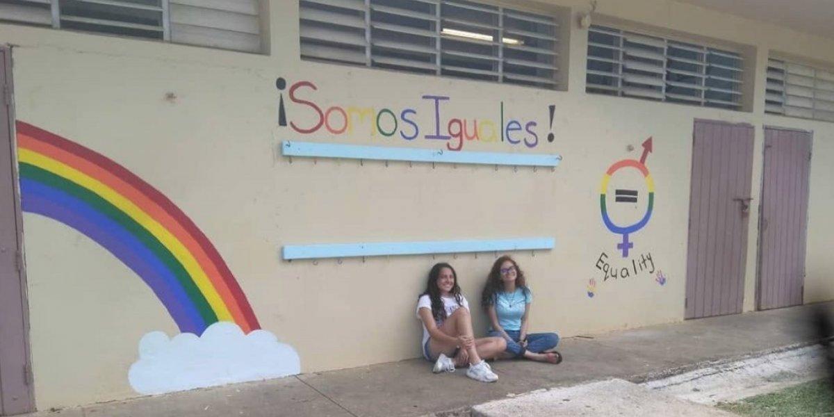 Educación manda a sacar mural sobre la equidad de género en una escuela