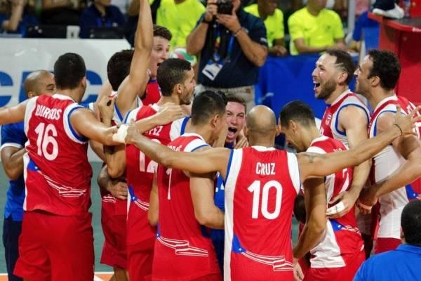 Puerto Rico gana medalla de oro en voleibol masculino