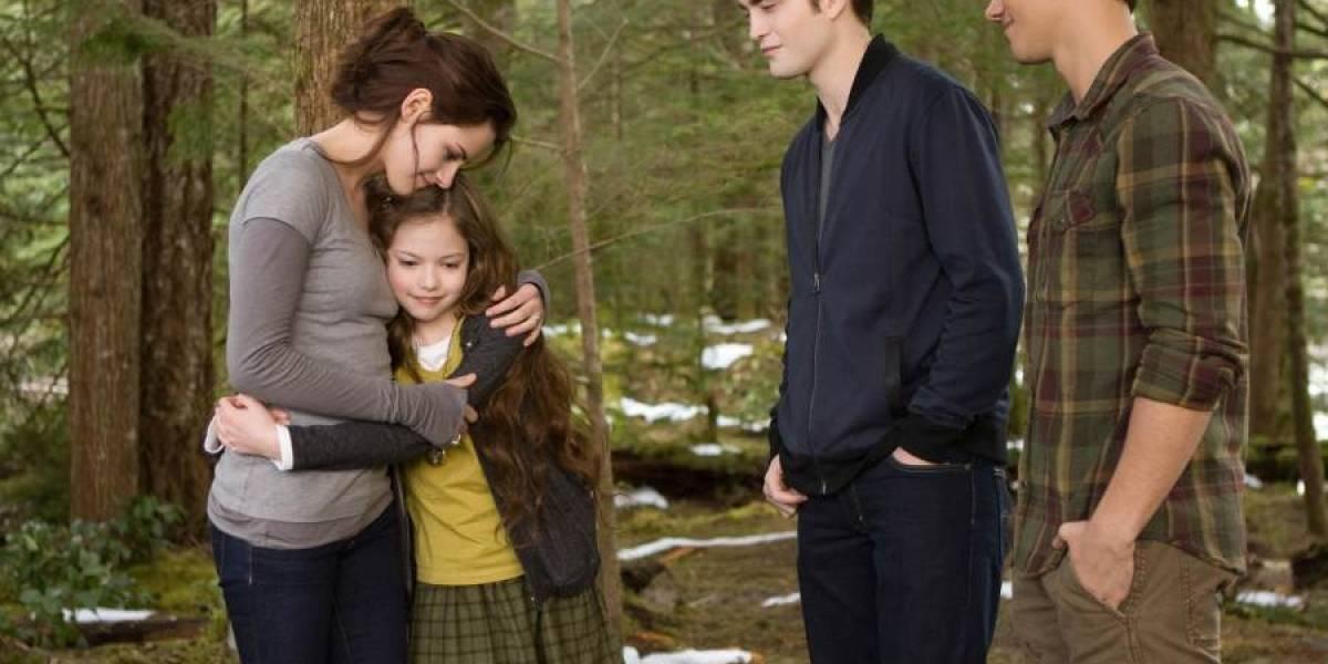 Así luce ahora Renesmee, la hija de Bella y Edward Cullen, en Crepúsculo