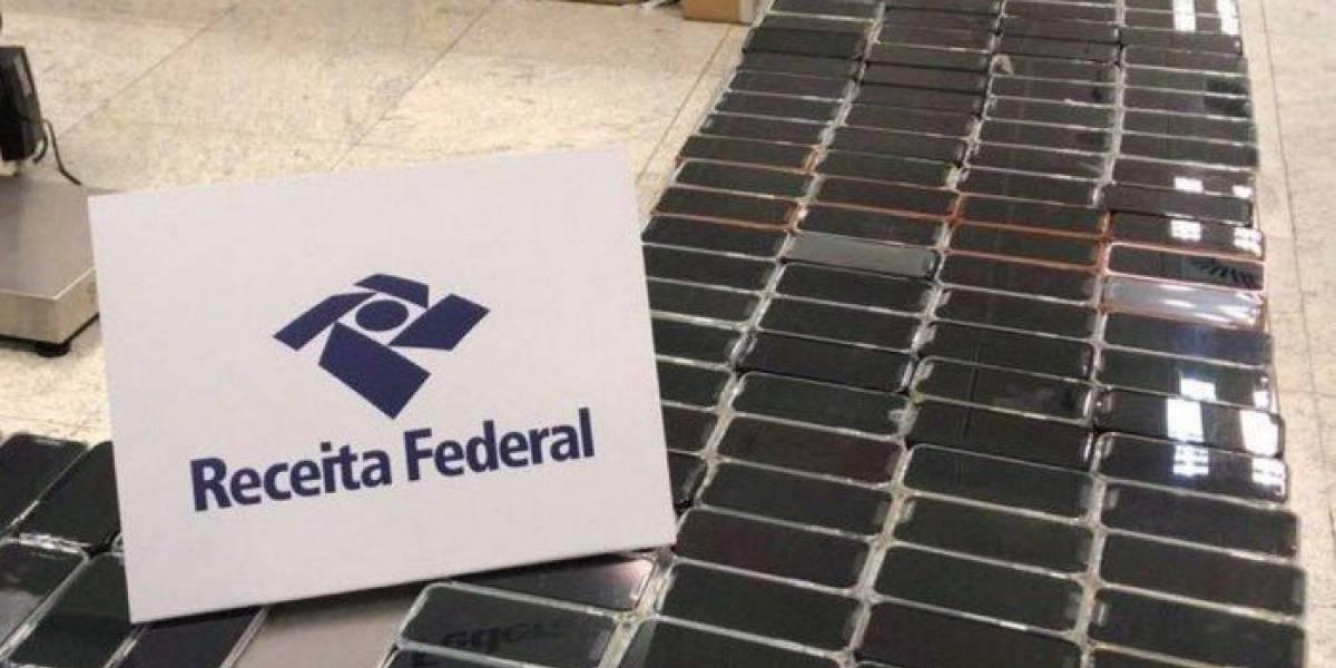 PF apreende 246 iPhones que estavam com passageiro no aeroporto de Guarulhos