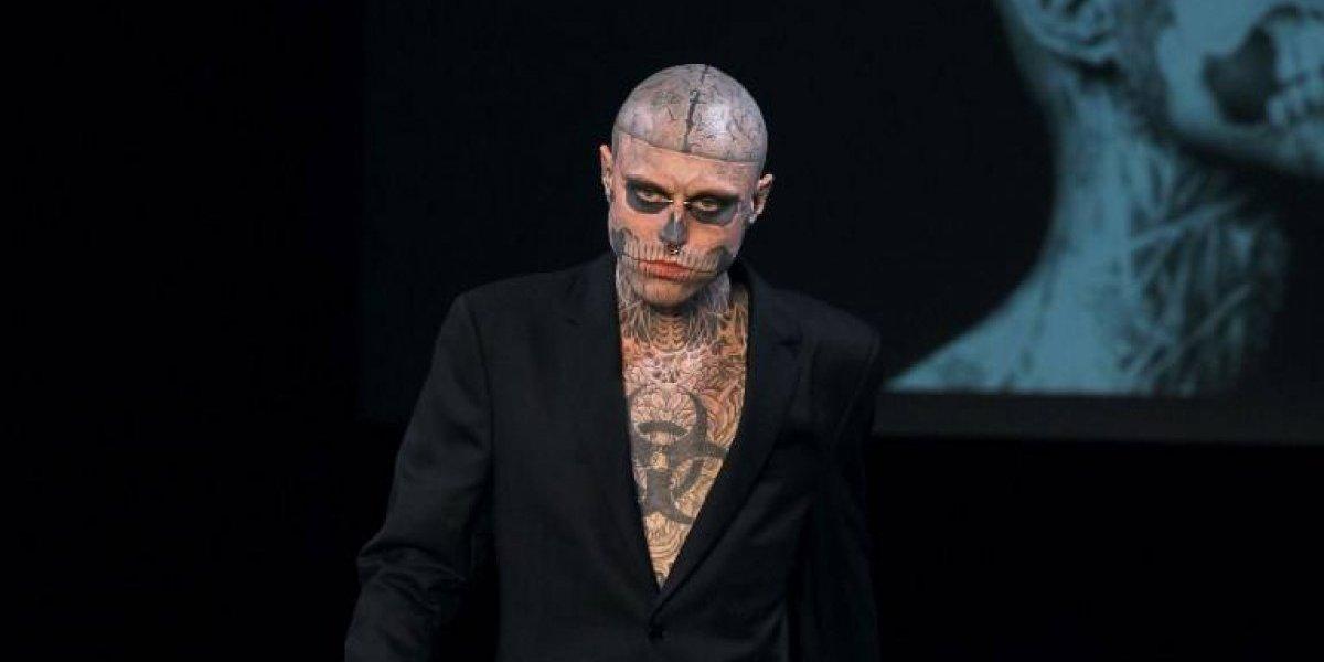 El modelo y artista canadiense Zombie Boy fue hallado sin vida